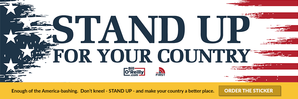 Stand Up For Your Country Sticker