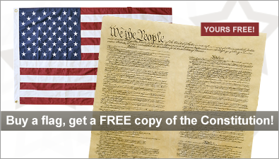 Free Constitution w Flag