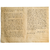Gettysburg Address Parchment Reproduction