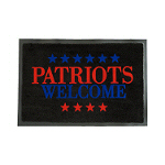 Patriots Welcome Doormat