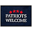 Patriots Welcome Jumbo Doormat
